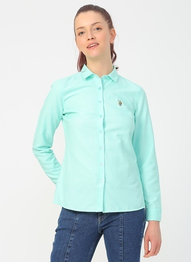 U.S. Polo Assn. U.S. Polo Assn. Yeşil Gömlek Yeşil